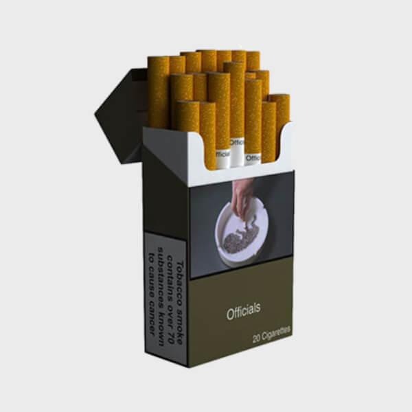 ICI Officials Cigarettes Superkings 1